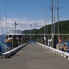 Wharf at Picton. New Zealand images.