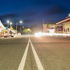 Collingwood mainstreet at night.