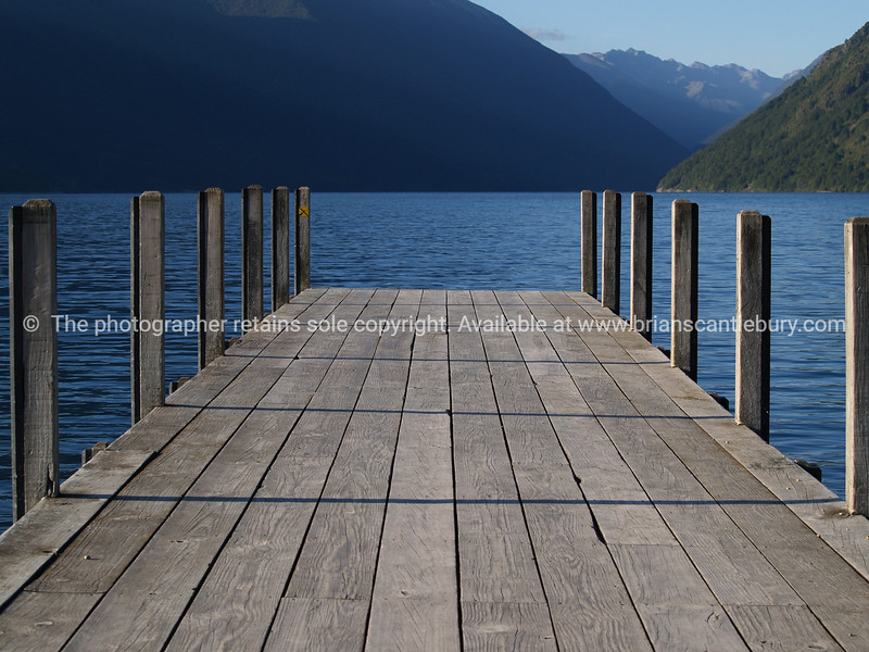 Jetty. New Zealand Images.
