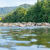 Scenic Anatoki River and bush surrounds.