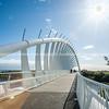 Te Rewa Rewa Bridge.