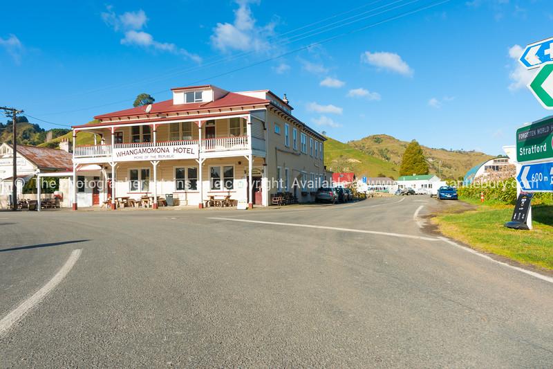Whangamomona Hotel on Forgotten Highway.