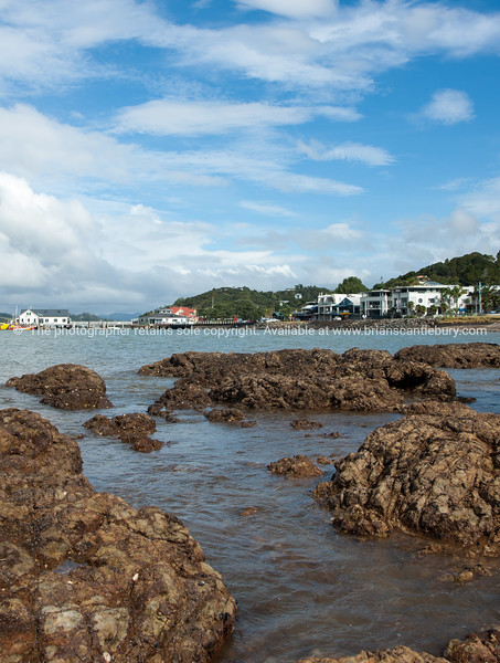 Paihia across the bay, Northland. New Zealand images.