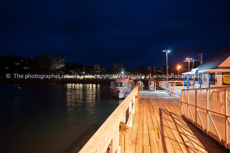 Russell , Bay of Islands at night