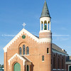 Red brick church in Ranfurly