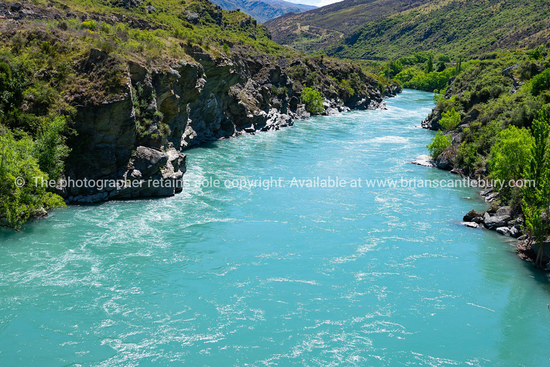 Scenic Kawerau Gorge and river