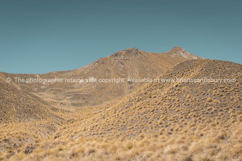 Lindis Pass landscape