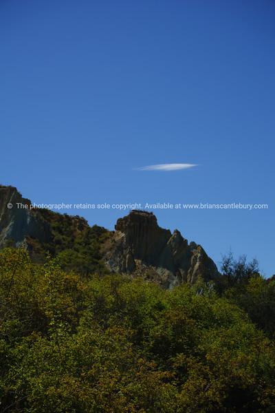 Clay cliffs of Omarama