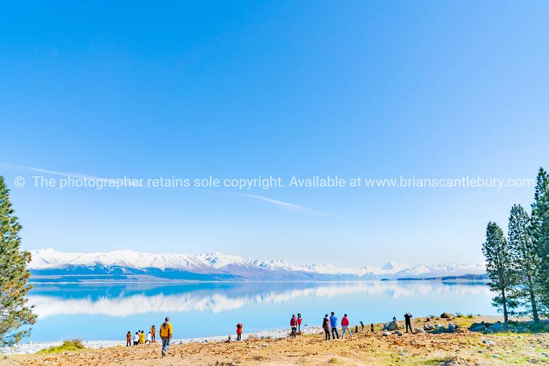 Lake Pukaki in Mackenzie Basin