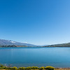Beautiful Lake Dunstan landscape at Cromwell