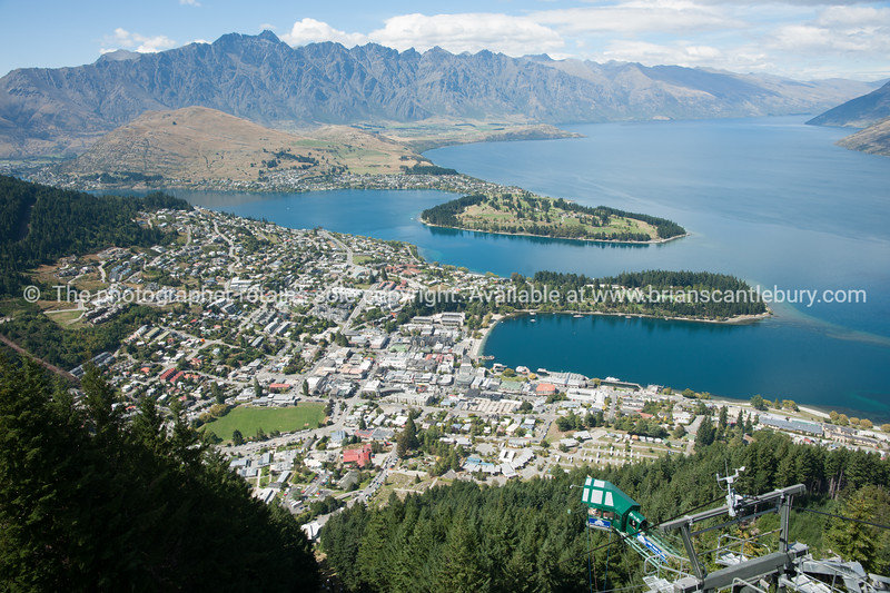 View from Bob's Peak above Queenstown