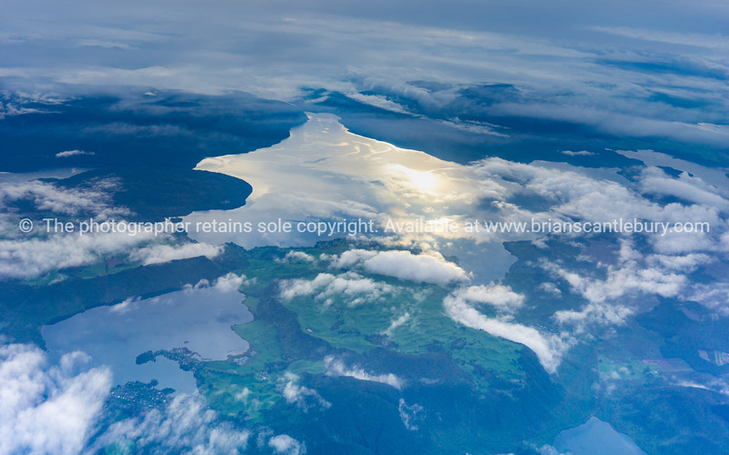 Aerial Southland  lamdscape