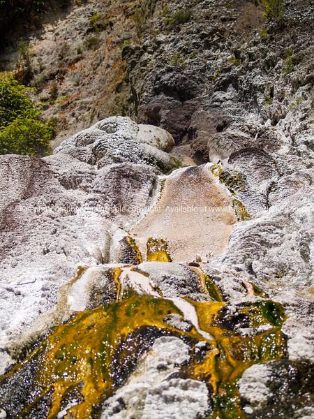 Geothermal flow.