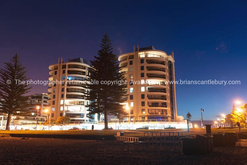Apartments and buildings on Mount Maunganui Oceanbeach Tauranga, Mount Maunganui photos