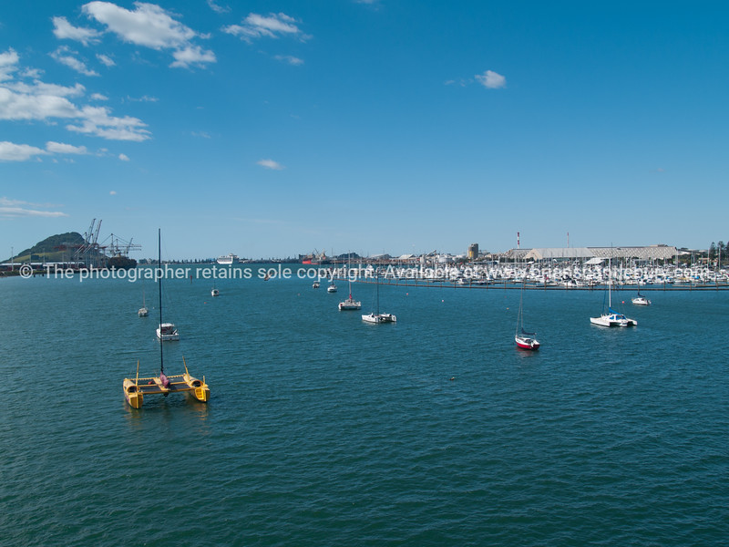 """Tauranga Harbour, Mount Maunganui in the distance. Harbour's activities shown as marina's sailing, container port, cruise ships and tropical feel. See;  <a href=""""http://www.blurb.com/b/3811392-tauranga"""">http://www.blurb.com/b/3811392-tauranga</a> mount maunganui landscape photography, Tauranga Photos; Tauranga photos, Photos of Tauranga Also see; <a href=""""http://www.brianscantlebury.com/Events"""">http://www.brianscantlebury.com/Events</a>"""
