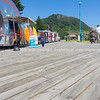 Boardwalk activities, ice cream and drinks sales at Mount Maunganui