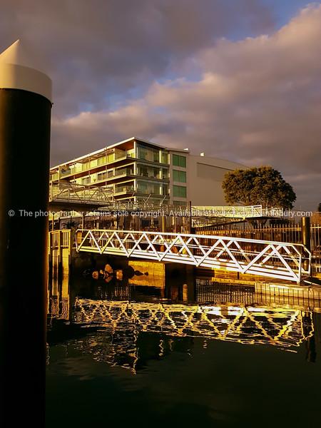 Morning light, at boat ramp Sulphur Point Tauranga.