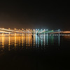 Night lights over Tauranga harbour