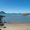 Across Tauranga harbor from Sulphur Point to landmark Mount Maunganui
