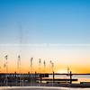 Tauranga waterfront water feature