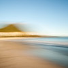 Mount Maunganui abstract.