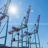 Large container cranes