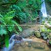 Waterfall at Mc Laren Falls Park in long exposure