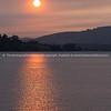 Orange sky at sunrise-10