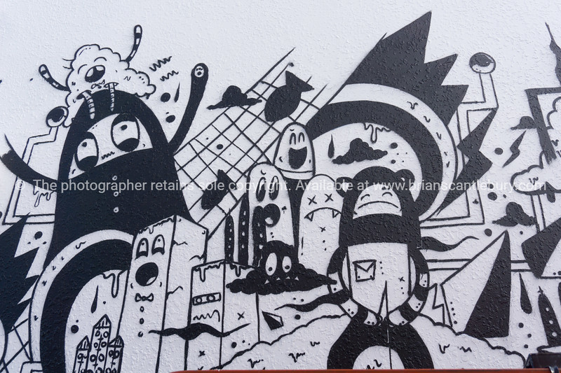 Model/Property Release; No for editorial and personal use only please. Mount Maunganui Street Art Festival  December 2015.