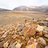 Rocky alpine landscape