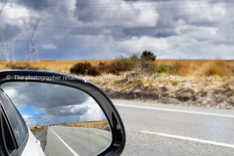 Desert Road landscape