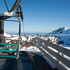 Chairlift top Station for happy Valley,  Whakapapa Village on Mount Ruapehu.