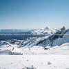 Whakapapa skifield on Mount Ruapehu.