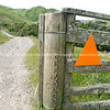Wairarapa back-country, Tora Walk traverses several farms to the coast. New Zealand Images.