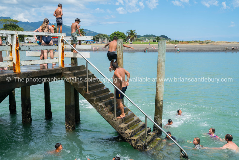 Summer fun in Raglan