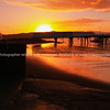Bridge across Raglan inlet at sunrise
