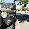 Vintage Buick car in Martinborough