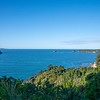View from Coromandel coast to sea