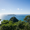 Ocean view from Paku Hill, Tairua. Coromandel Peninsula.