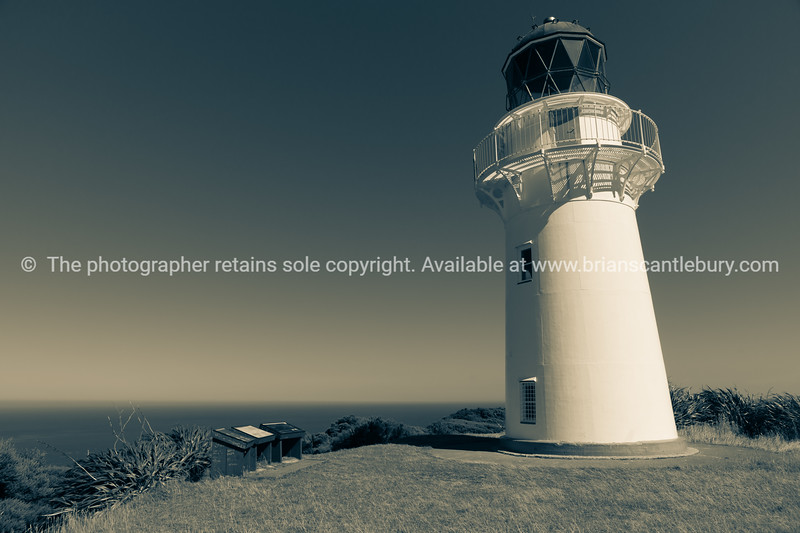 Lighthouse at most eastern point