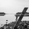 Monochrome, Ohiwa Harbour, Bay of Plenty.