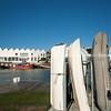 Napier harbour front.