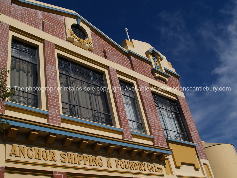 Anchor Shipping & Foundry Co. harbourside Building, Nelson. New Zealand image.