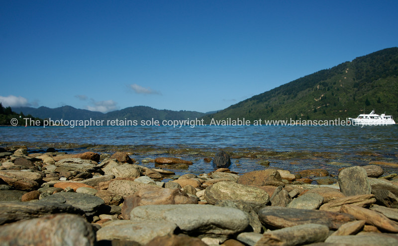 Endeavour Inlet, Queen Charlotte Sounds. New Zealand images.