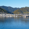 Picton Harbour. New Zealand images.