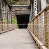 Bridge to Rail tunnel in Karangahake, Gorge, Waikino. New Zealand images.