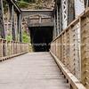 Bridge to Rail tunnel in Karangahake, Gorge, Waikino. New Zealand images.