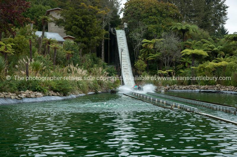Rainbow Springs water ride.