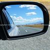 Rear vision mirror.