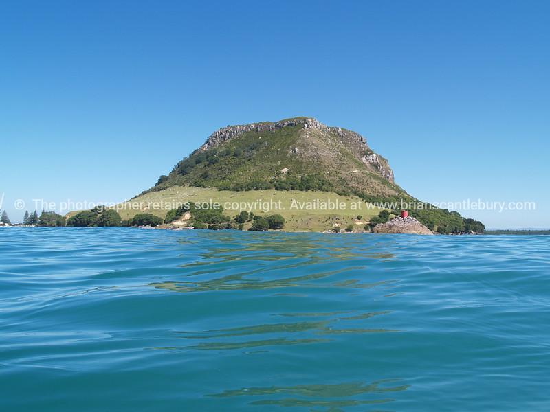 Mount Maunganui from sea.